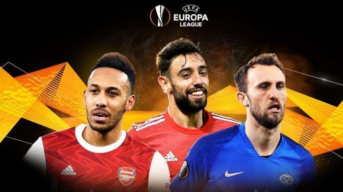 Hasil Lengkap Babak 16 Besar Liga Eropa, Jumat (12/3/2021) WIB 1
