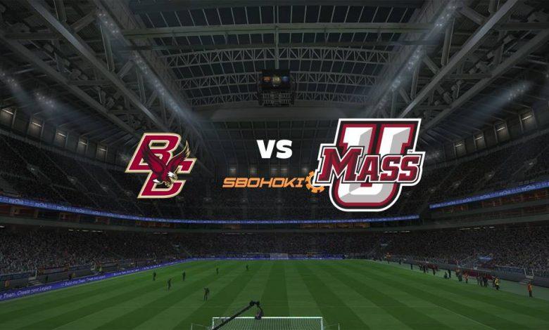 Live Streaming Boston College Eagles vs Massachusetts 7 Maret 2021 1