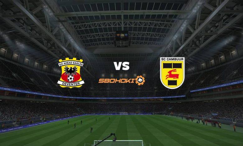 Live Streaming Go Ahead Eagles vs SC Cambuur 12 Maret 2021 1