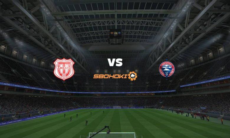Live Streaming Técnico Universitario vs Olmedo 20 Maret 2021 1