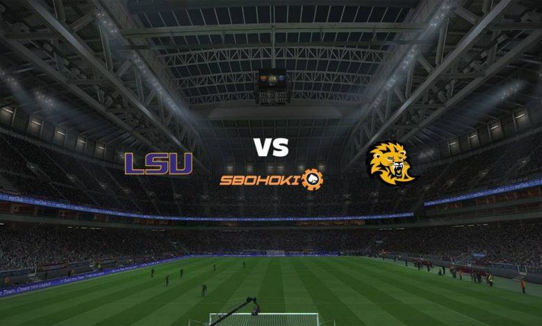 Live Streaming LSU Tigers vs SE Louisiana 5 Maret 2021 1