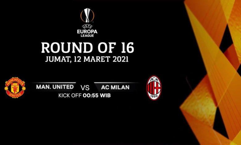 Link Live Streaming Manchester United vs AC Milan: Pertarungan Nama Besar 1