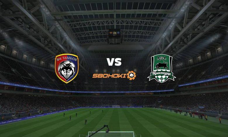 Live Streaming FC Tambov vs Krasnodar 14 Maret 2021 1