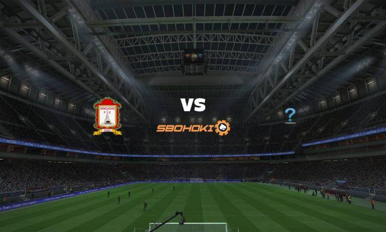 Live Streaming Ayacucho FC vs TBD 17 Maret 2021 1