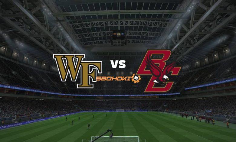 Live Streaming Wake Forest vs Boston College 7 Maret 2021 1