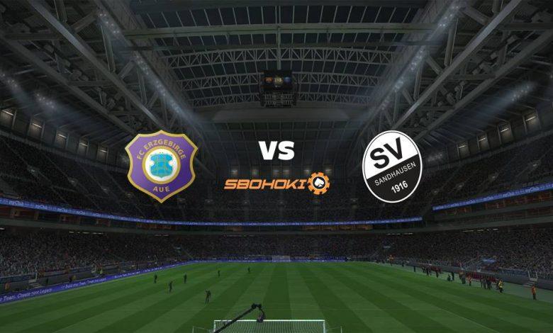 Live Streaming FC Erzgebirge Aue vs SV Sandhausen 20 Maret 2021 1