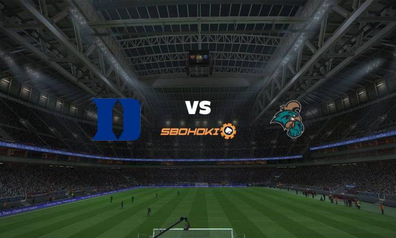 Live Streaming Duke Blue Devils vs Coastal Carolina University 17 Maret 2021 1