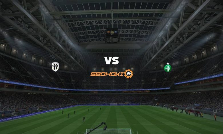 Live Streaming Angers vs St Etienne 13 Maret 2021 1