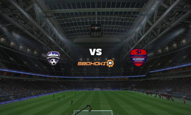 Live Streaming Metropolitanos FC vs Academia Puerto Cabello 18 Maret 2021 1