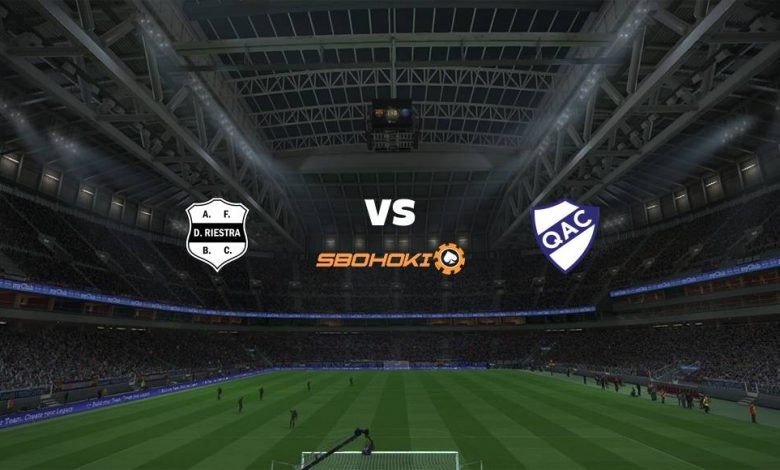 Live Streaming Deportivo Riestra vs Quilmes 15 Maret 2021 1