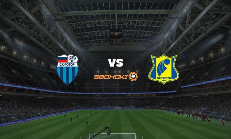 Live Streaming FC Rotor Volgograd vs Rostov 17 Maret 2021 1