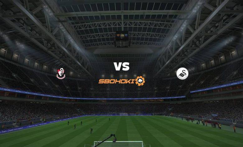 Live Streaming Bournemouth vs Swansea City 16 Maret 2021 1