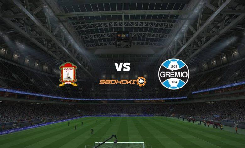 Live Streaming Ayacucho FC vs Grêmio 17 Maret 2021 1