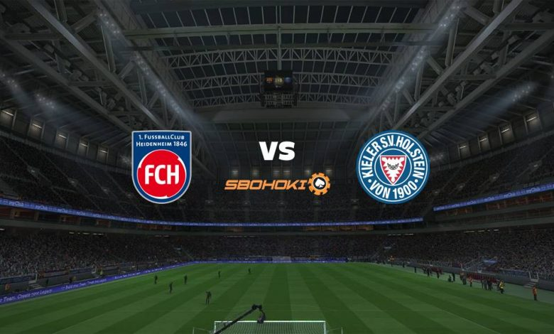 Live Streaming 1. FC Heidenheim vs Holstein Kiel 12 Maret 2021 1