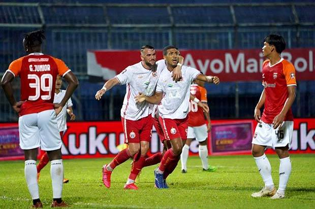 Piala Menpora 2021: Persija Pesta Gol Melawan Borneo FC 1