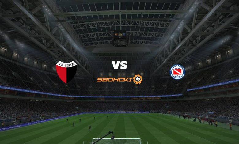 Live Streaming Colón (Santa Fe) vs Argentinos Juniors 17 Maret 2021 1