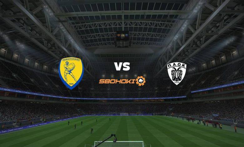Live Streaming Panathinaikos vs PAOK Salonika 14 Maret 2021 1