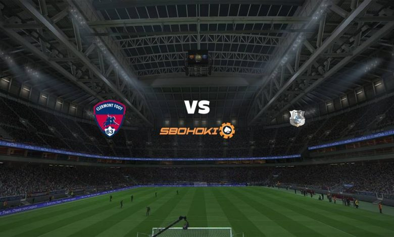 Live Streaming Clermont Foot vs Amiens 13 Maret 2021 1