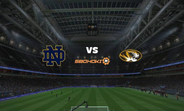 Live Streaming Notre Dame Fighting Irish vs Missouri Tigers 13 Maret 2021 1