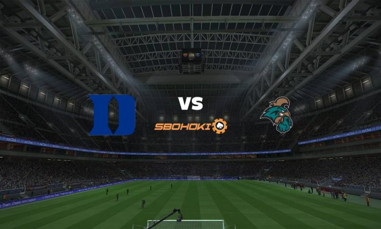 Live Streaming Duke Blue Devils vs Coastal Carolina University 14 Maret 2021 1