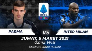 Photo of Nonton Live Streaming Parma vs Inter Milan Malam Ini