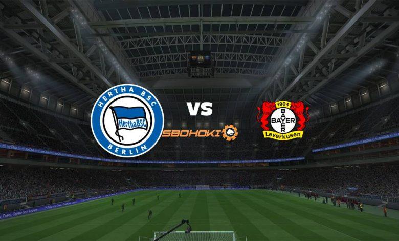Live Streaming Hertha Berlin vs Bayer Leverkusen 21 Maret 2021 1