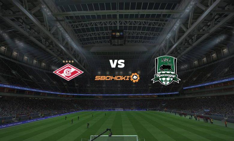 Live Streaming Spartak Moscow vs Krasnodar 7 Maret 2021 1