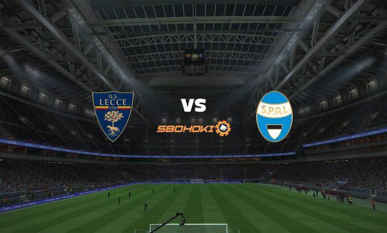 Live Streaming Lecce vs Spal 10 April 2021 1