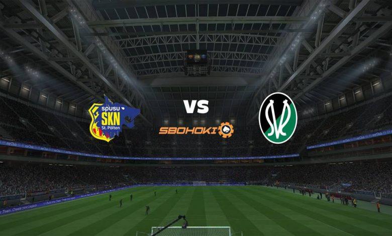 Live Streaming St. Pölten vs SV Josko Ried 27 April 2021 1