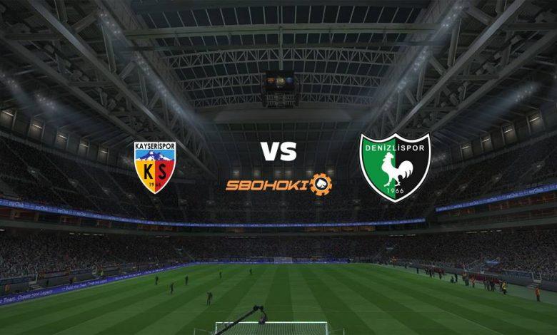 Live Streaming Kayserispor vs Denizlispor 28 April 2021 1