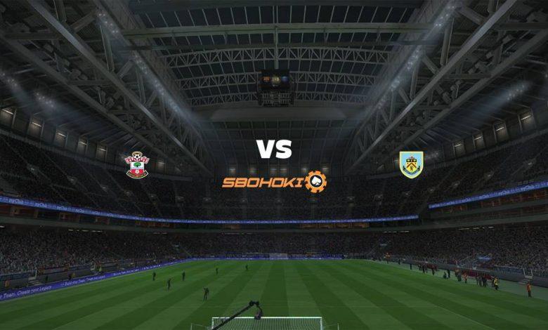 Live Streaming Southampton vs Burnley 4 April 2021 1