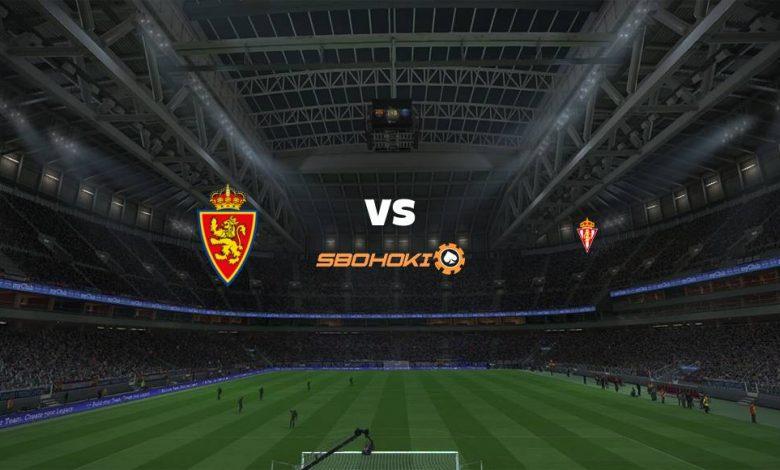 Live Streaming Real Zaragoza vs Sporting Gijón 23 April 2021 1