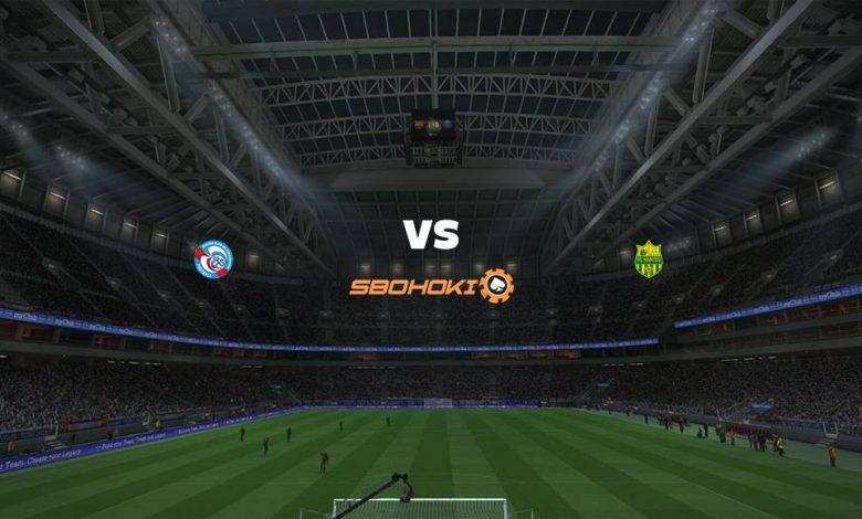 Live Streaming Strasbourg vs Nantes 25 April 2021 1