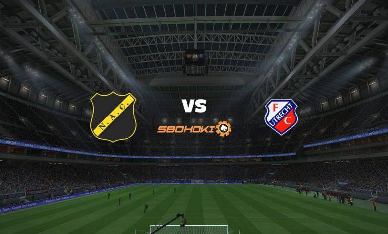 Live Streaming NAC Breda vs Jong FC Utrecht 9 April 2021 1