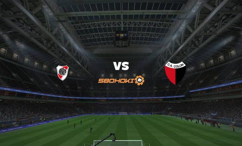 Live Streaming River Plate vs Colón (Santa Fe) 12 April 2021 1