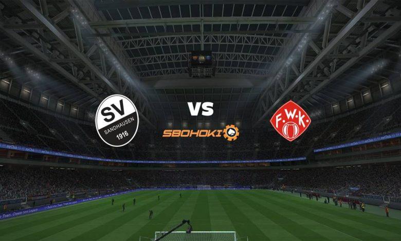 Live Streaming SV Sandhausen vs Würzburger Kickers 4 April 2021 1