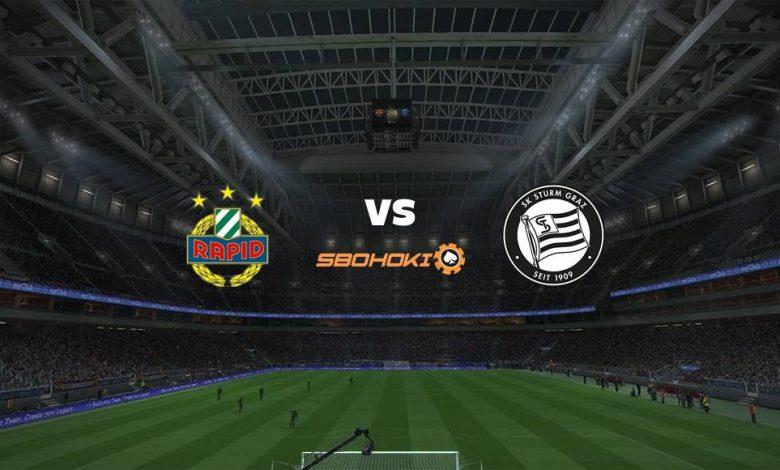 Live Streaming Rapid Vienna vs SK Sturm Graz 18 April 2021 1