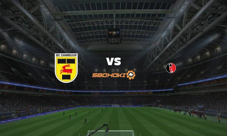 Live Streaming SC Cambuur vs Helmond Sport 16 April 2021 1