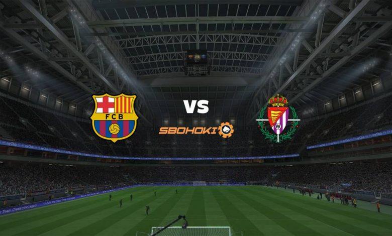 Live Streaming Barcelona vs Valladolid 5 April 2021 1