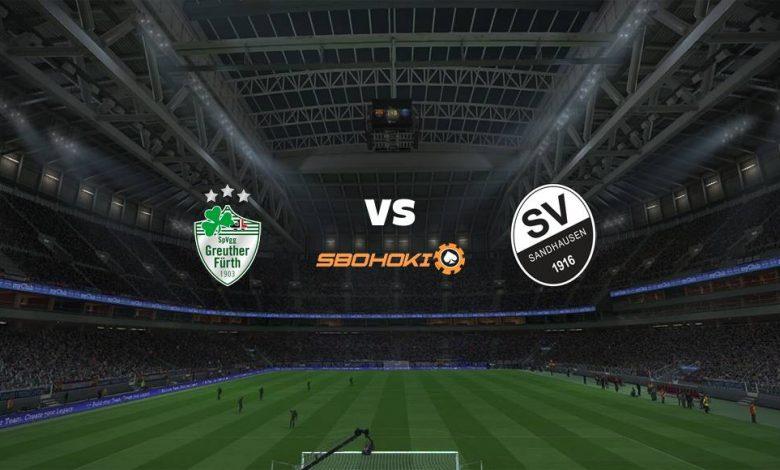 Live Streaming SpVgg Greuther Furth vs SV Sandhausen 28 April 2021 1