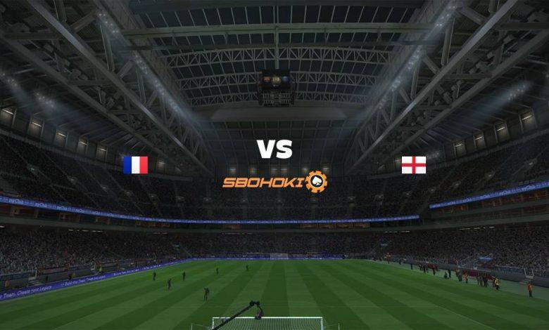 Live Streaming France vs England 9 April 2021 1
