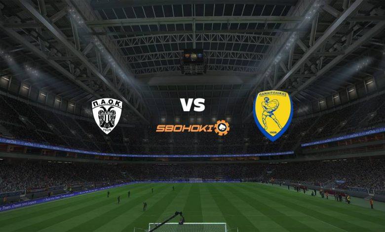 Live Streaming PAOK Salonika vs Panathinaikos 25 April 2021 1
