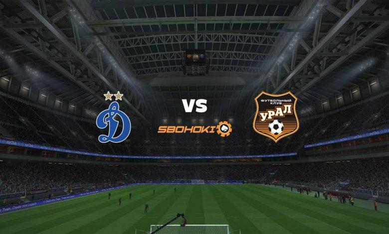 Live Streaming Dinamo Moscow vs FC Ural Ekaterinburg 11 April 2021 1