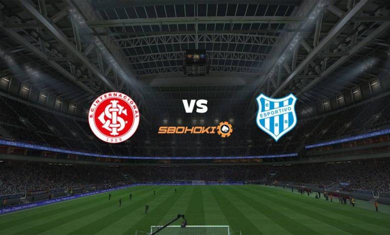 Live Streaming Internacional vs Esportivo-RS 25 April 2021 1