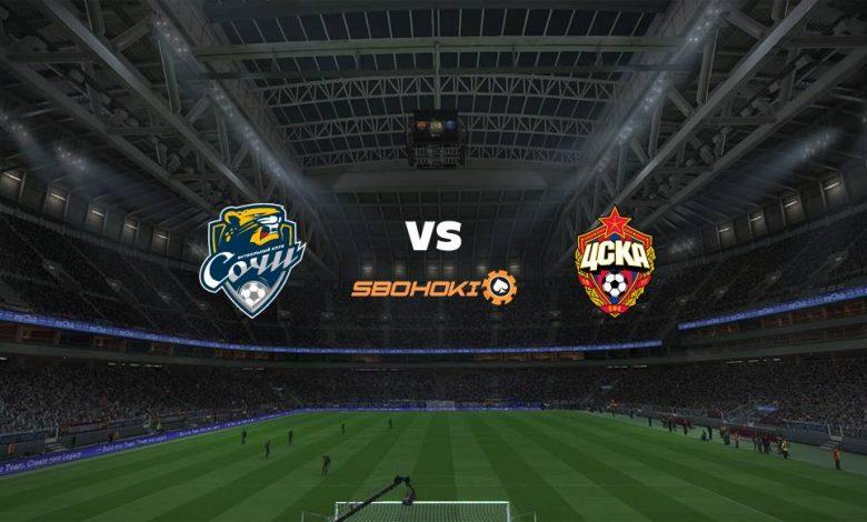 Live Streaming Sochi vs CSKA Moscow 18 April 2021 1