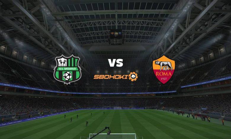 Live Streaming Sassuolo vs Roma 3 April 2021 1