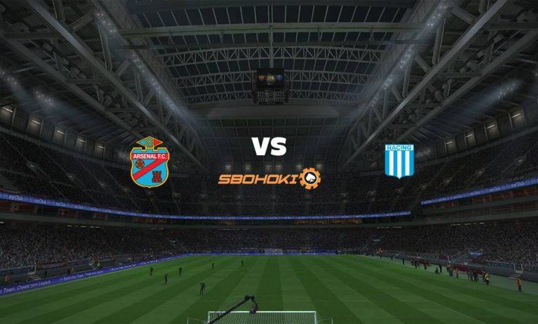 Live Streaming Arsenal de Sarandí vs Racing Club 18 April 2021 1