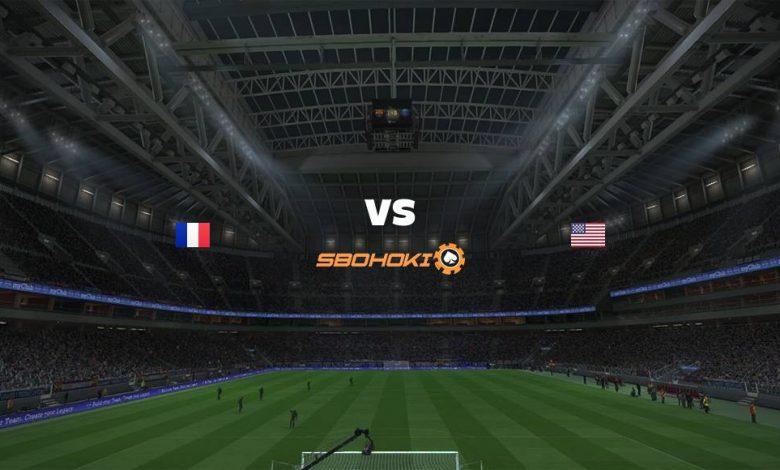 Live Streaming France vs United States 13 April 2021 1