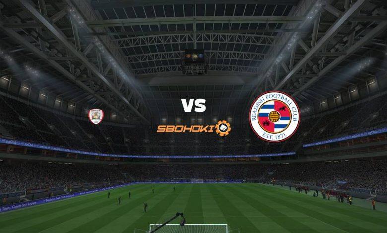 Live Streaming Barnsley vs Reading 2 April 2021 1