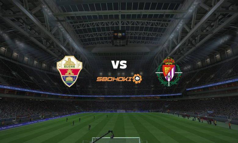 Live Streaming Elche vs Valladolid 21 April 2021 1